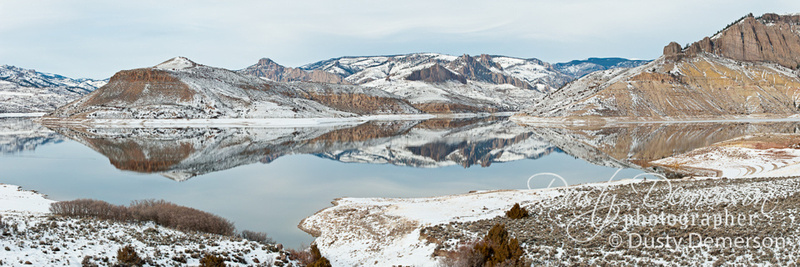 Blue Mesa Lake Panorama