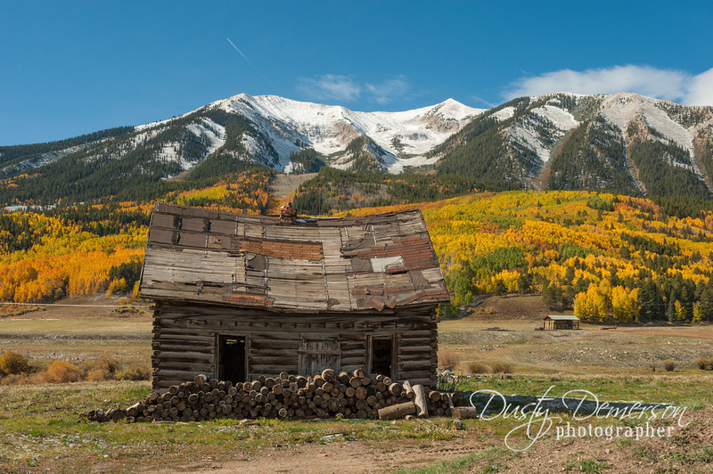 Tucks cabin and Mount Whetstone