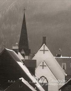 Silverton roofscape