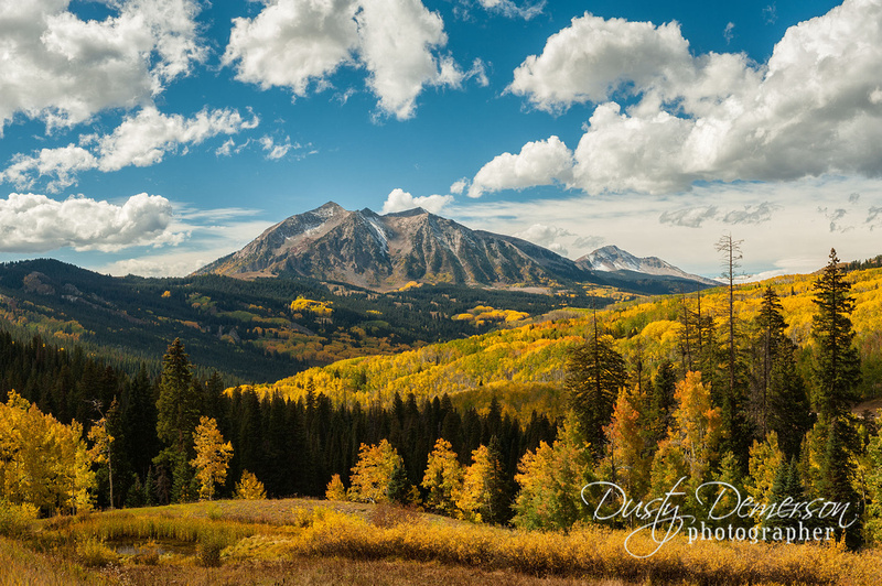 East Beckwith Mountain fall color
