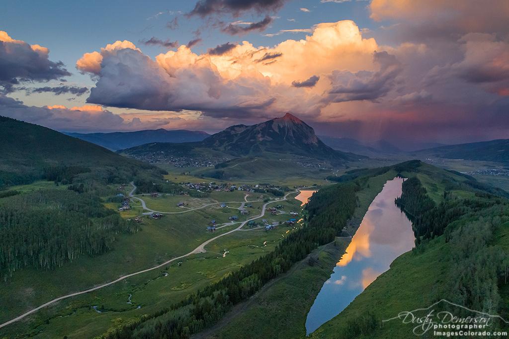 Long Lake Sunset