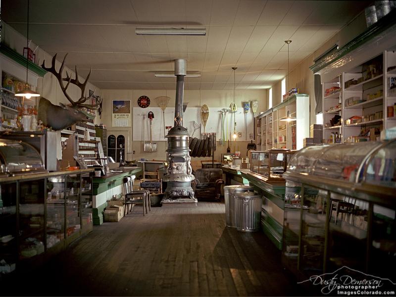 Inside Tony's Conoco and Hardware Store.