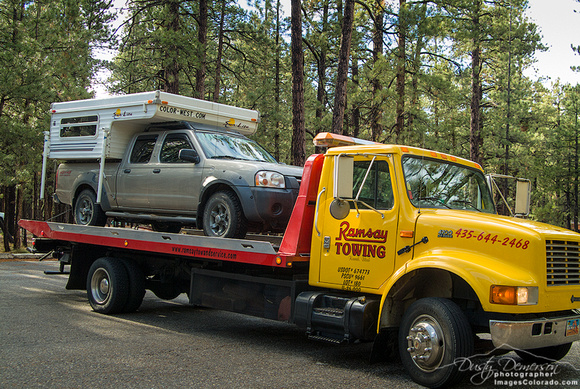 Getting Towed