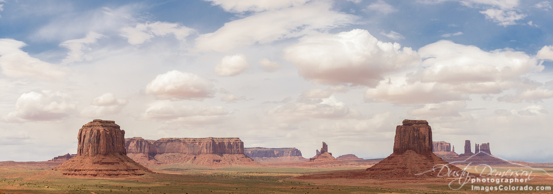 Clearing Storm, Artist Point, Monument Valley, AZ copy