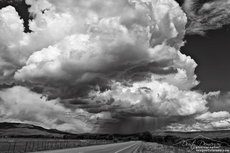 Western Colorado Summer Thunderstorm