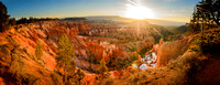 Sunrise Panorama - Bryce Canyon
