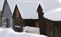 Crested Butte Barns And Snow 1