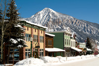 Crested Butte Downtown Winter