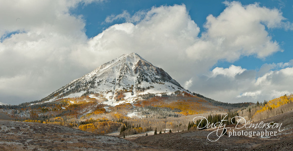 Gothic Mountain fall color