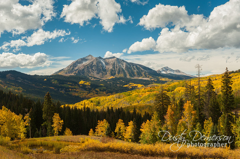 East Beckwith Mountain Autumn