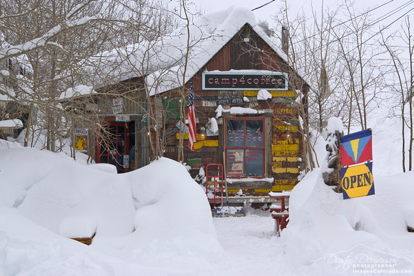 Camp 4 Coffee Winter - Crested Butte Colorado