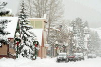 Crested Butte Holiday Snow