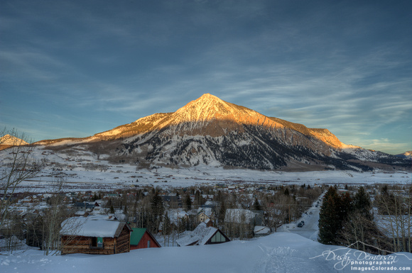 Alpenglow - Crested Butte, Colorado