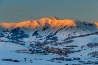 Alpenglow - Mount Crested Butte Colorado