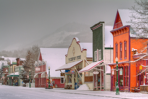 Crested Butte Cartoon Town