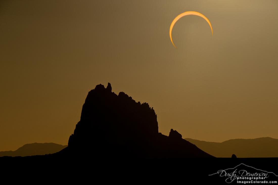 Shiprock Eclipse