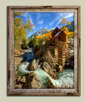 Crystal Mill Colors Framed